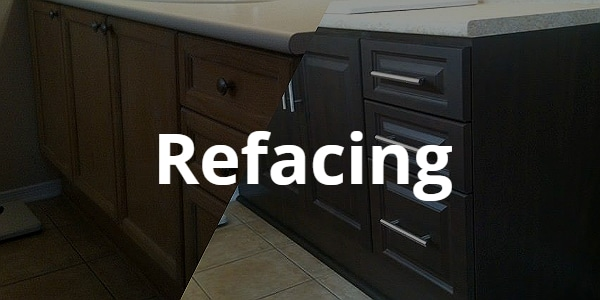 Refacing to modernize Kitchen